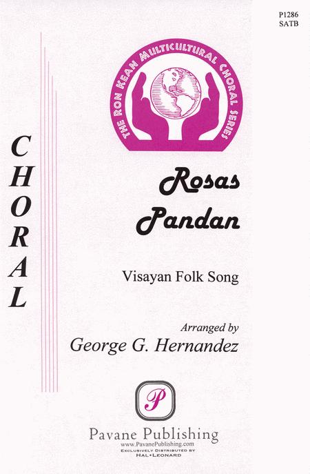 Rosas Pandan : SATB : George Hernandez : Sheet Music : 08301766 : 884088058531