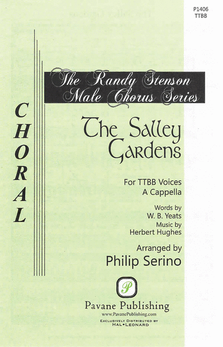 The Salley Gardens : TTBB : Philip Serino : Sheet Music : 08301921 : 884088552671