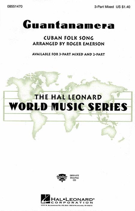 Guantanamera : SAB : Roger Emerson : Sheet Music : 08551470 : 073999563306
