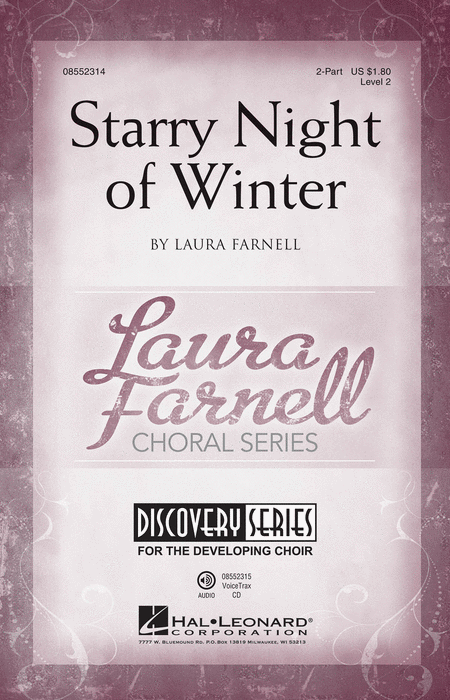 Starry Night of Winter : 2-Part : Laura Farnell : Laura Farnell : Sheet Music : 08552314 : 884088551315
