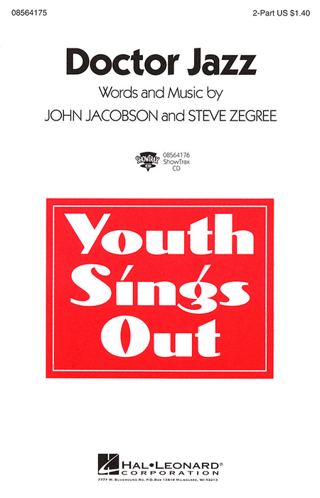 "Doctor Jazz : 2-Part : Steve Zegree : Joe ""King"" Oliver : Sheet Music : 08564175 : 073999641752"