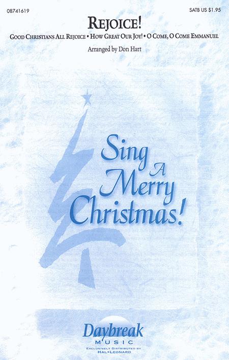 Rejoice! (Medley) : SATB : Don Hart : Sheet Music : 08741619 : 073999416190