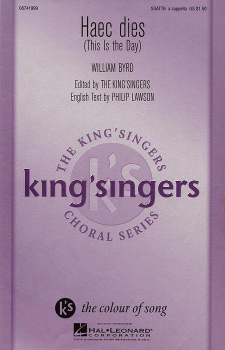 Haec Dies : SATB divisi : King Singers : King's Singers : Sheet Music : 08741999 : 073999476026