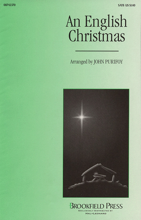 An English Christmas (Medley) : SATB : John Purifoy : Sheet Music : 08742370 : 073999423709