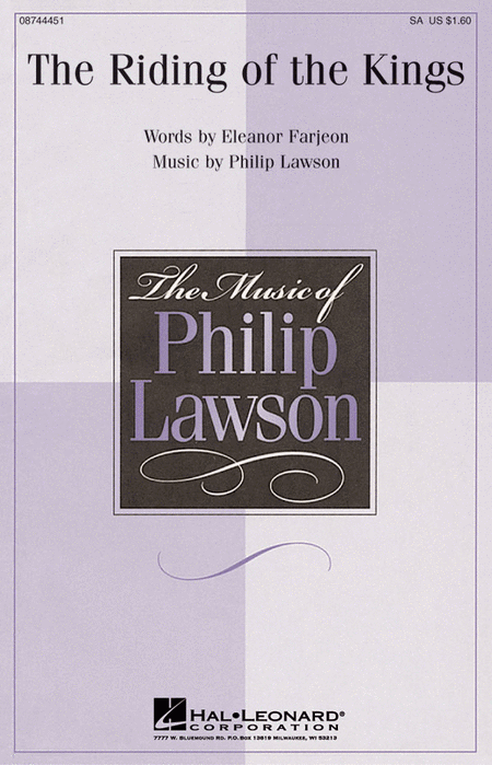 The Riding of the Kings : SA : Philip Lawson : Philip Lawson : Sheet Music : 08744451 : 073999727890