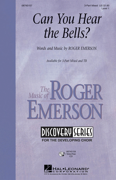 Can You Hear the Bells? : SAB : Roger Emerson : Roger Emerson : Sheet Music : 08745157 : 884088016197