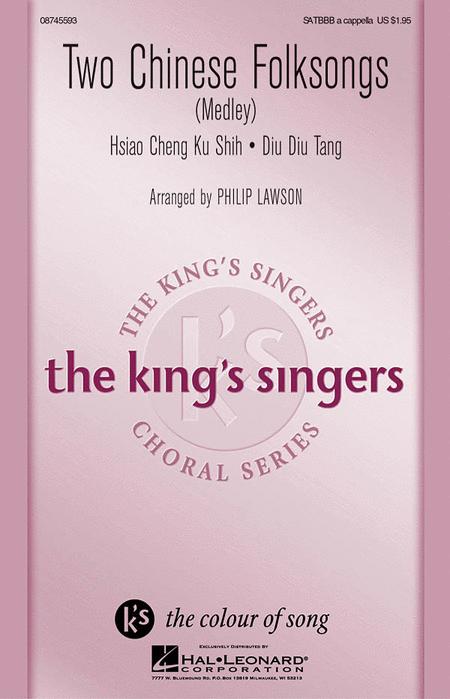 Hsiao Cheng Ku Shih : SATBBB : Philip Lawson : King's Singers : Sheet Music : 08745593 : 884088076351