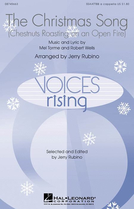 The Christmas Song : SSAATTBB : Jerry Rubino : Sheet Music : 08745663 : 884088099824