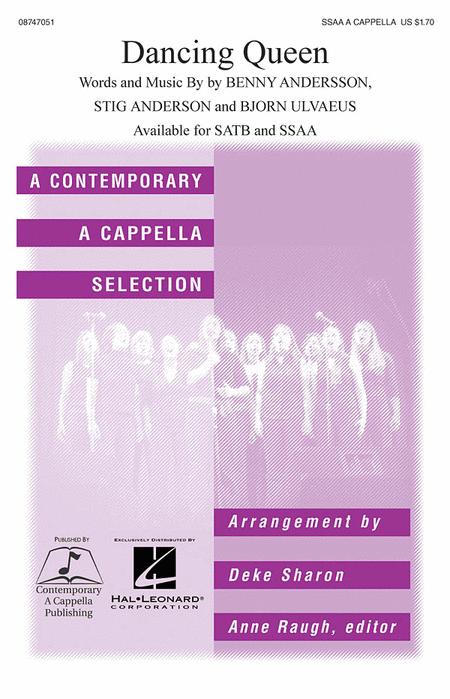 Dancing Queen : SSAA : Deke Sharon : Benny Andersson : Abba : Mamma Mia! : Sheet Music : 08747051