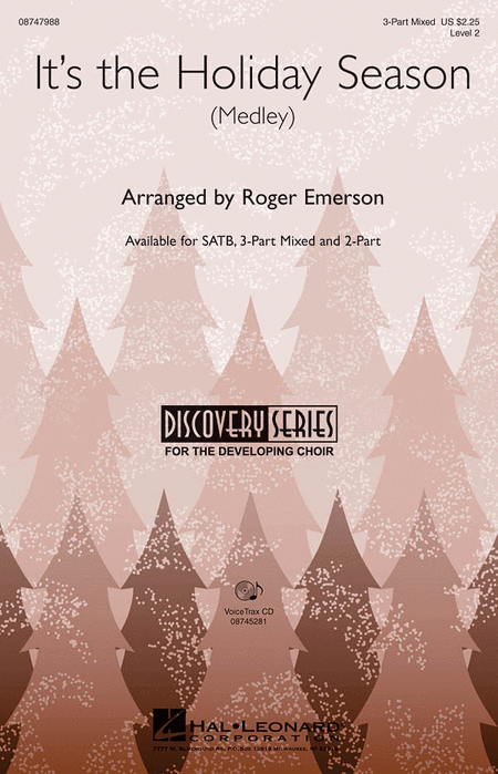 It's the Holiday Season : SAB : Roger Emerson : Sheet Music : 08747988 : 884088211271