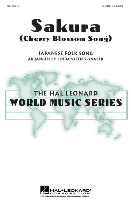 Sakura : 2-Part : Linda Spevacek : Sheet Music : 08756912 : 073999569124