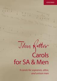 John Rutter : Carols for SA and Men : 01 Songbook : 9780193524187