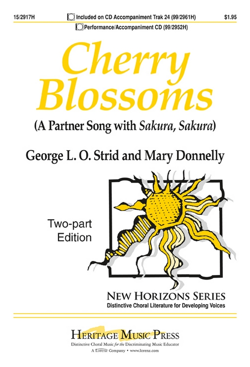 Cherry Blossoms : 2-Part : Mary Donnelly : Mary Donnelly : Sheet Music : 15-2917H : 9781429128636