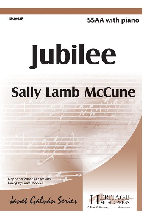 Jubilee : SSAA : Sally Lamb McCune : Sally Lamb McCune : DVD : 15-2962R : 9781429125956