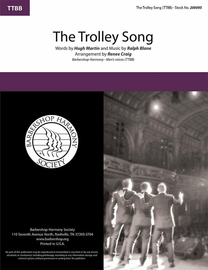 The Trolly Song : TTBB : Renee Craig : Easter Parade : Sheet Music : 200095