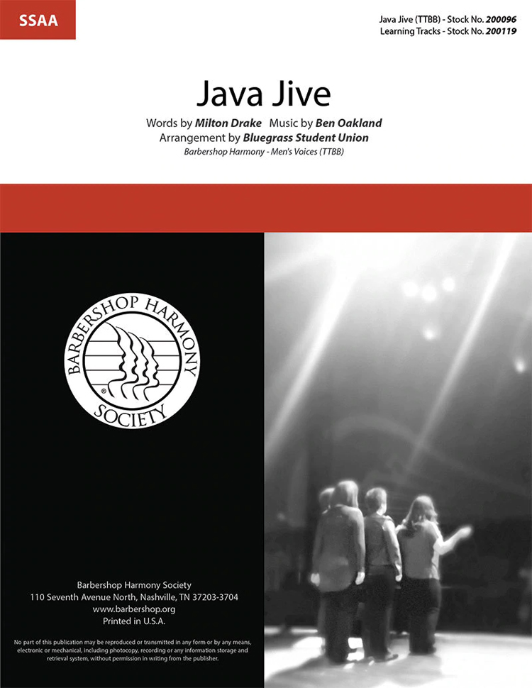 Java Jive : SSAA : Bluegrass Student Union : Ben Oakland : Bluegrass Student Union : Songbook : 200305