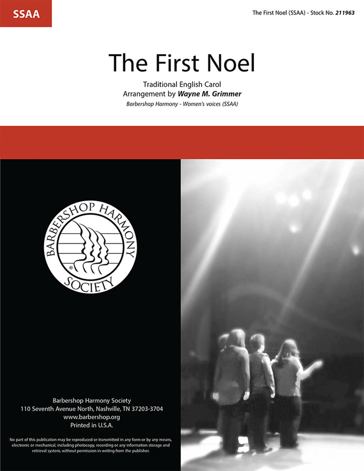The First Noel : SSAA : Wayne Grimmer : Sheet Music : 211963