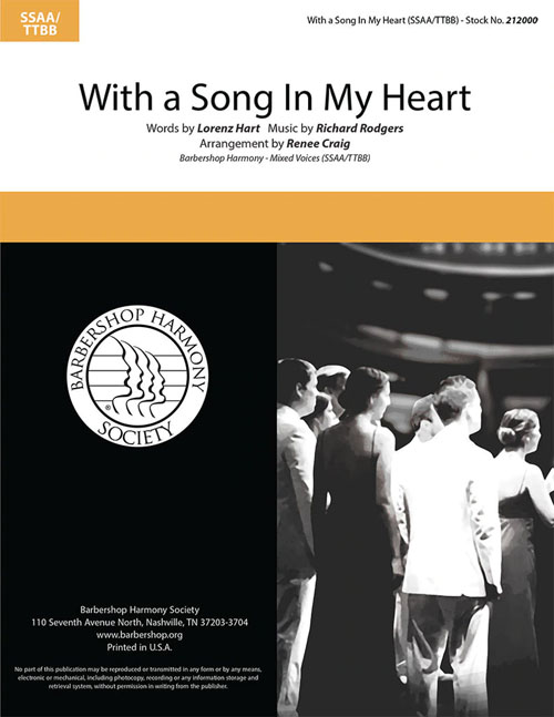 With A Song In My Heart : SATB : Renee Craig :  1 CD : 212000