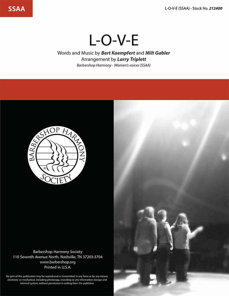 L-O-V-E : SSAA : Larry Triplett : Bert Kaempfert : Nat King Cole  : DVD : 212400