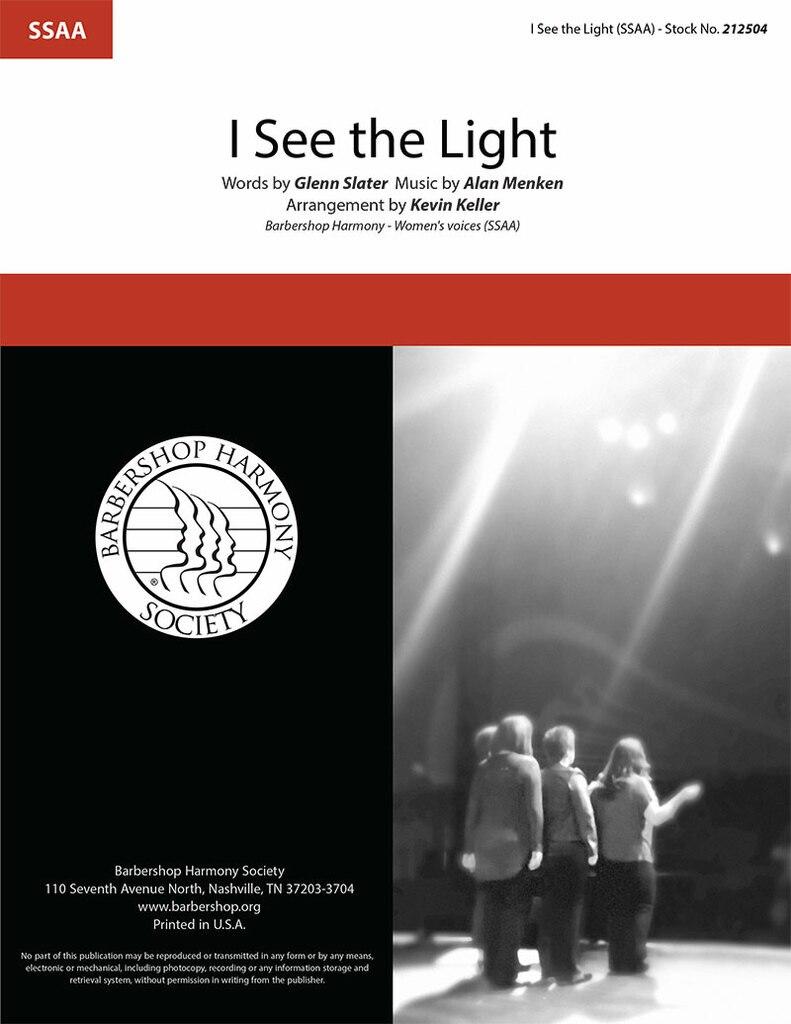 I See The Light : SSAA : Kevin Keller : Alan Menken : Tangled : Songbook : 212504