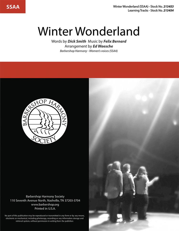 Winter Wonderland : SSAA : Ed Waesche : Sheet Music : 00362291