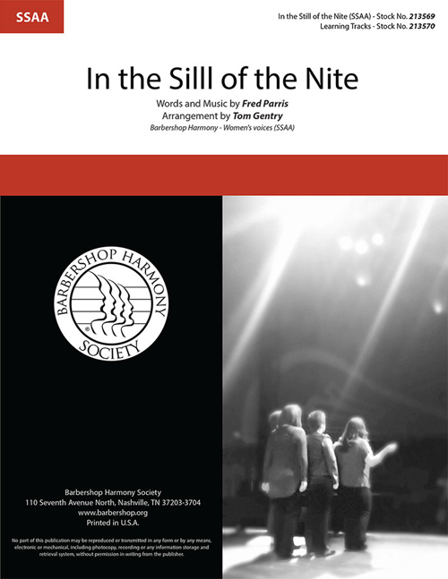 In The Still of the Night : SSAA : Tom Gentry : Sheet Music : 00334015