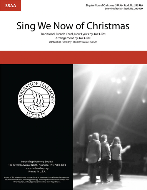 Sing We Now of Christmas : SSAA : Joe Liles : Sheet Music : 213599