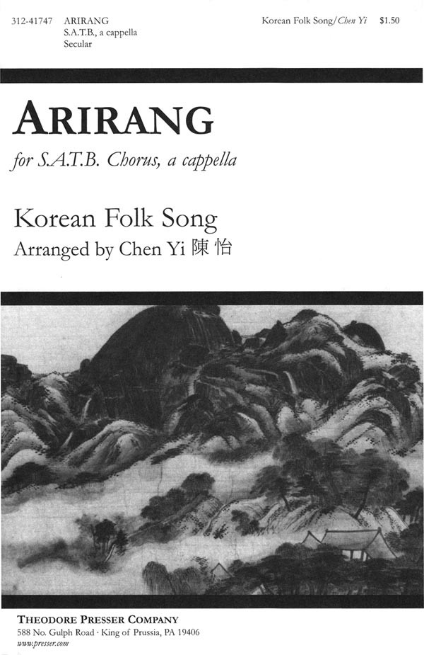 Arirang : SATB : Chen Yi : Sheet Music : 312-41747