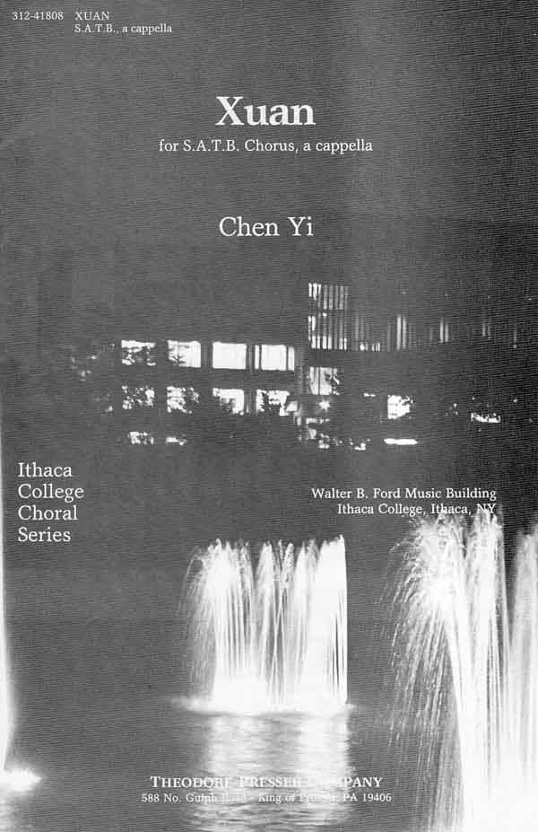 Xuan : SATB : Chen Yi : Sheet Music : 312-41808