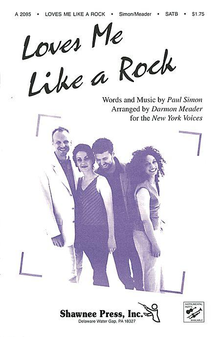 New york voices at singers sheet music cds and songbook loves me like a rock satb darmon meader paul simon new york stopboris Choice Image