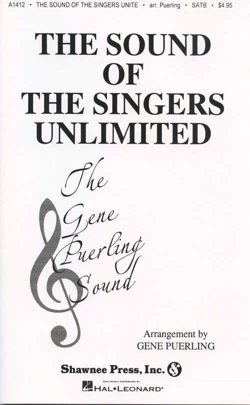 "The Sound of the <span style=""color:red;"">Singers Unlimited</span> : SSAATBB : Gene Puerling : The Singers Unlimited : Sheet Music : 35021340 : 747510014645"