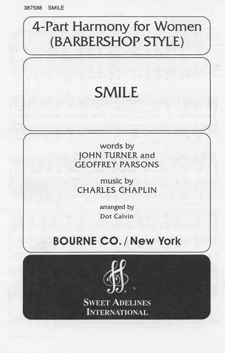 Smile : SSAA : Dot Calvin : Sheet Music : 387588