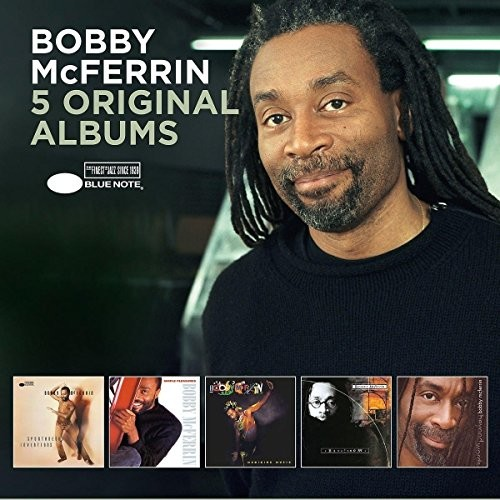 Bobby McFerrin : 5 Original Albums : 5 CDs : 600753769812 : BLUN5376981.2