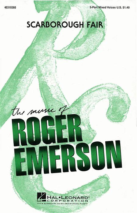Scarborough Fair : SAB : Roger Emerson : Sheet Music : 40319360 : 073999193602