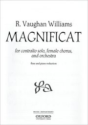 Ralph Vaughan Williams : Magnificat : Upper Voices - 3 par : Songbook : 9780193391543 : 9780193391543