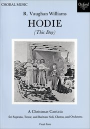 Ralph Vaughan Williams : Hodie (This Day) : SATB : Songbook : 9780193395510 : 9780193395510