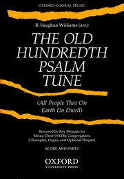 Ralph Vaughan Williams : The Old Hundredth Psalm Tune : SATB : Songbook : 9780193850293 : 9780193850293