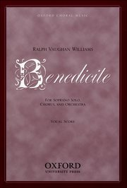 Ralph Vaughan Williams : Benedicite : SATB : Songbook : 9780193851597 : 9780193851597