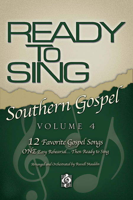Russell Mauldin : Ready To Sing Southern Gospel Volume 4 : SATB : Songbook :  : 645757136277 : 645757136277