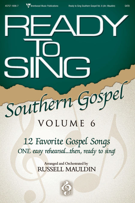Russell Mauldin : Ready To Sing Southern Gospel Volume 6 : SATB : Songbook :  : 645757169671 : 645757169671