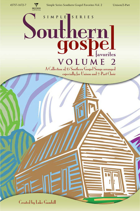 Various Artists : Simple Series Southern Gospel Favorites, Volume 2 : 2 Part : Songbook : 645757167271 : 645757167271