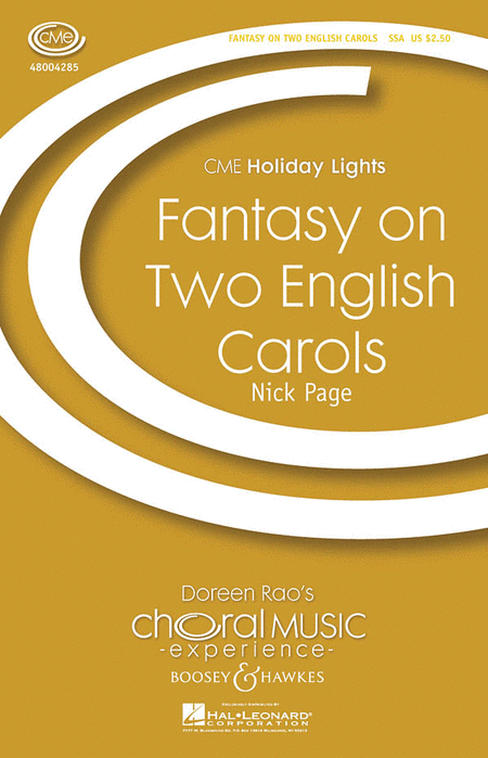 Fantasy on Two English Carols : SSA : Nick Page : Sheet Music : 48004285 : 073999816853