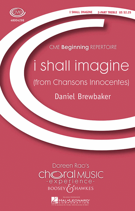 i shall imagine : SA : Daniel Brewbaker : Sheet Music : 48004298 : 073999761887