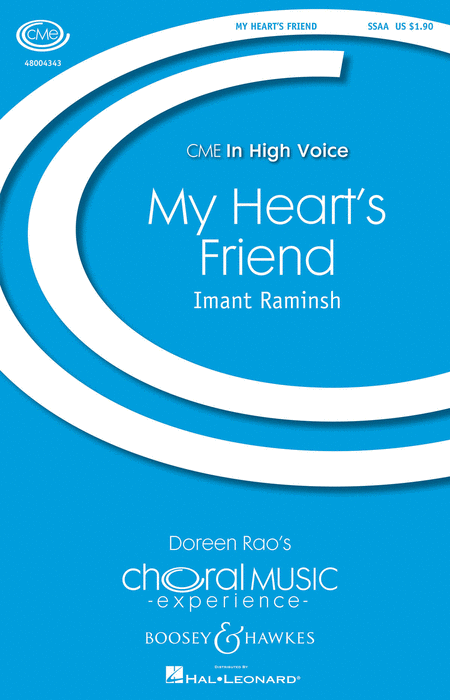 My Heart's Friend : 2-Part : Imant Raminsh : Sheet Music : 48004343 : 073999876277