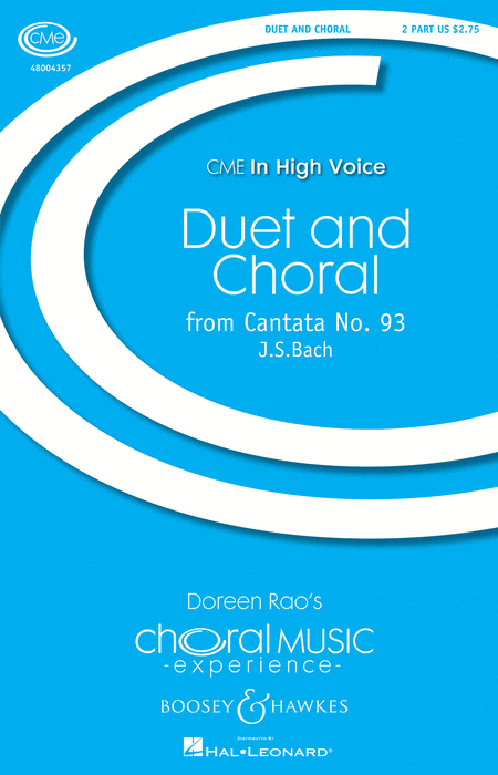 Duet and Chorale : 2-Part : Doreen Rao : Sheet Music : 48004357 : 073999350920
