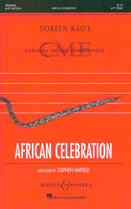 African Celebration : SSAA : Stephen Hatfield : Sheet Music : 48004466 : 073999087666