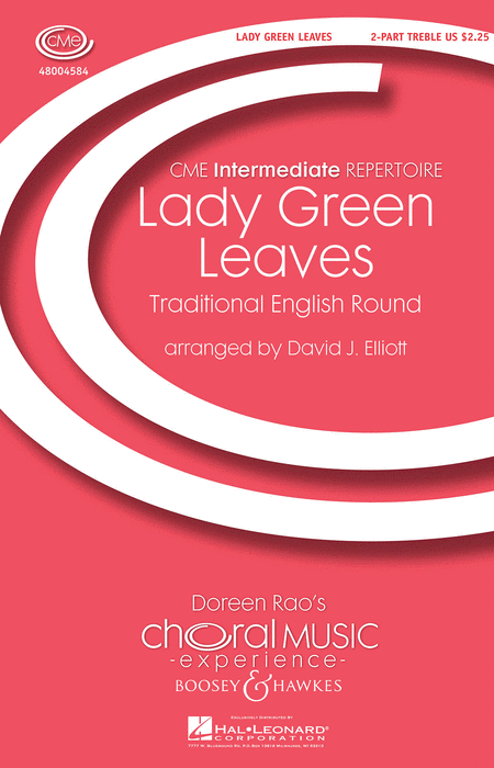 Lady Green Leaves : 2-Part : David Elliott : Sheet Music : 48004584 : 073999684124
