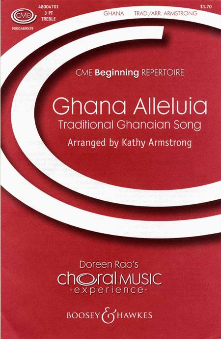 Ghana Alleluia : SSA : Kathy Armstrong : Sheet Music : 48004701 : 073999399363