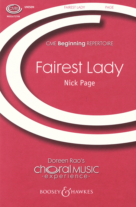Fairest Lady : Unison : Nick Page : Sheet Music : 48004859 : 073999781236