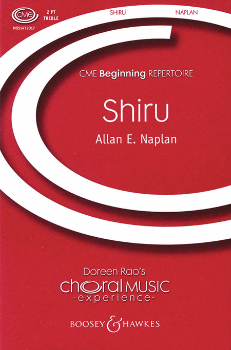 Shiru (Sing) : 2-Part : Allan E. Naplan : Sheet Music : 48004879 : 073999558043